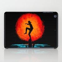 Minimalist Karate Kid Tribute Painting iPad Case