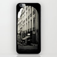 Parisian Doorway iPhone & iPod Skin
