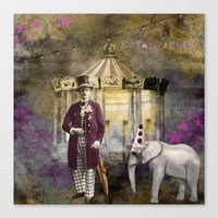 Circus king  Canvas Print