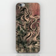 iPhone & iPod Skin featuring Tempest III (sandstorm) by Mat Miller