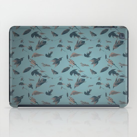birds pattern iPad Case