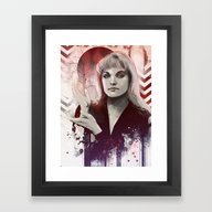 Framed Art Print featuring Going Nowhere Fast by Vincent Vernacatola