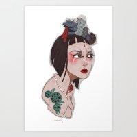 Ulrha _City Series Art Print