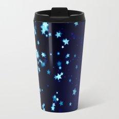 Twinkele Blue Stars Travel Mug