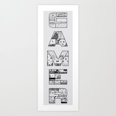 Gamer 2 Art Print