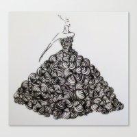 My Flower Dream Canvas Print