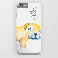 iPhone & iPod Case featuring Pug Love by Elaine Ramos