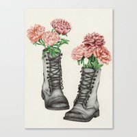 Shoe Bouquet III Canvas Print