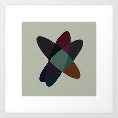 #65 Orbits – Geometry Daily Art Print