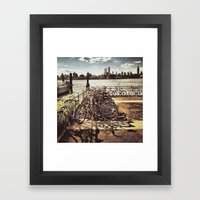 NYC Bikes Framed Art Print