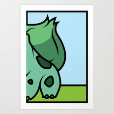 Starters: A Art Print