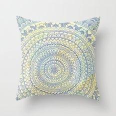 Mandala Doodle Throw Pillow
