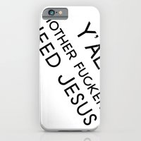 iPhone & iPod Case featuring Need Jesus by Andria Aileen
