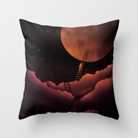 Stairway To the Moon Throw Pillow