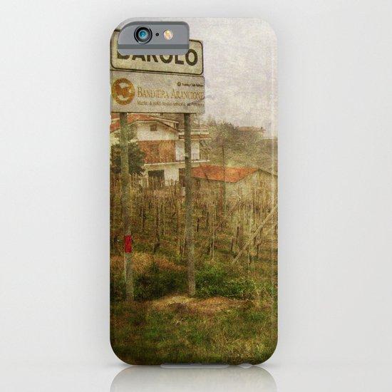 Barolo vineyards, Piedmont, Italy iPhone & iPod Case
