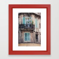 New Orleans - Close Your Eyes and Dream Framed Art Print
