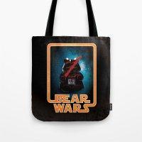 Bear Wars - Darth Teddy Tote Bag