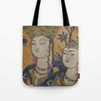 persian painting Tote Bag