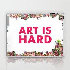Art Is Hard - Flower Girl Laptop & iPad Skin