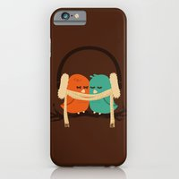 birds iPhone & iPod Cases featuring Baby It's Cold Outside by Picomodi