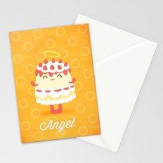 Angel Cake Stationery Cards