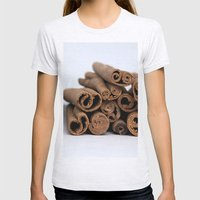 Cinnamon Spice - Kitchen… Womens Fitted Tee Ash Grey SMALL