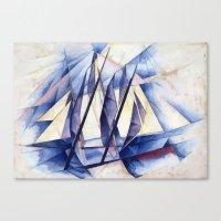 Sail Movements Canvas Print