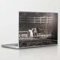 horses Laptop & iPad Skins featuring Horses by Kimberley Britt