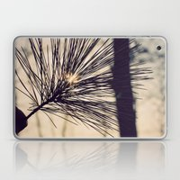 Peaking Through Laptop & iPad Skin