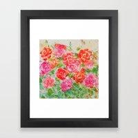 Forever Roses Framed Art Print