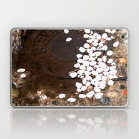 puddle petals Laptop & iPad Skin
