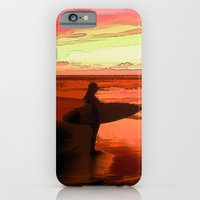 iPhone & iPod Case featuring I'm Here by Robin Curtiss