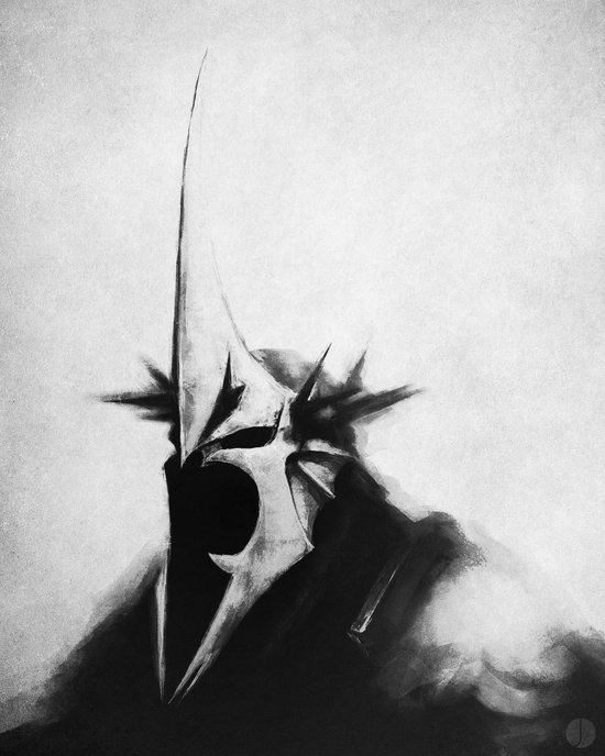 WITCH-KING Art Print