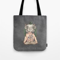 Long Live The Dead - Owl Tote Bag