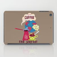 First Coffee iPad Case