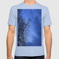 Here Comes the Night Mens Fitted Tee Athletic Blue SMALL