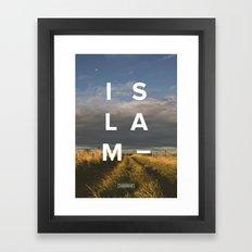 Islam- Poster Framed Art Print