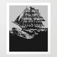 Rocked To Sleep By The B… Art Print