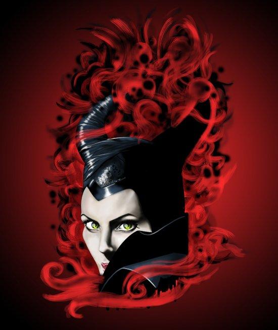 Maleficent-2 Art Print