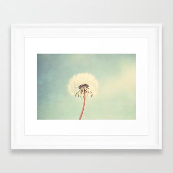 life is but a dream Framed Art Print