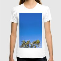 palm trees T-shirts featuring Palm Trees by JacPfef