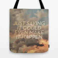 cloudbusting Tote Bag