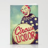 Circus Liquor, N. Hollywood, CA. Stationery Cards