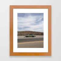 Bisbee Roadside Framed Art Print