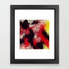 Pops Of Fury Framed Art Print