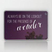 presence of wonder. Laptop & iPad Skin