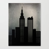 City Skyline  Canvas Print