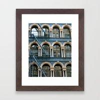 Architecture New York  Framed Art Print