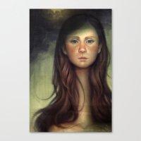 The Patchwork Spouse Canvas Print