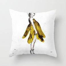 a lady's dream Throw Pillow